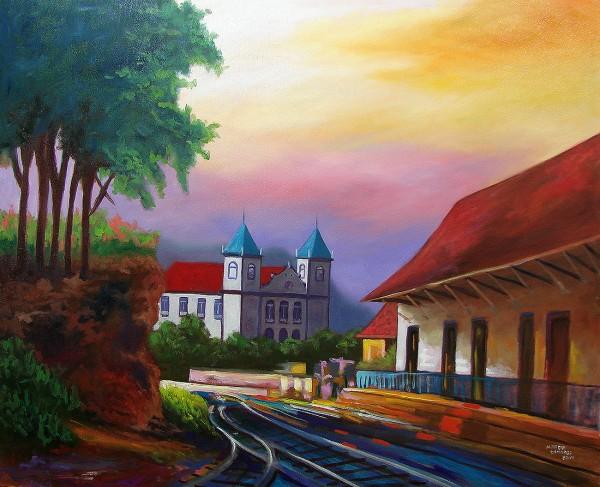 Antiga estação ferroviária de Formiga