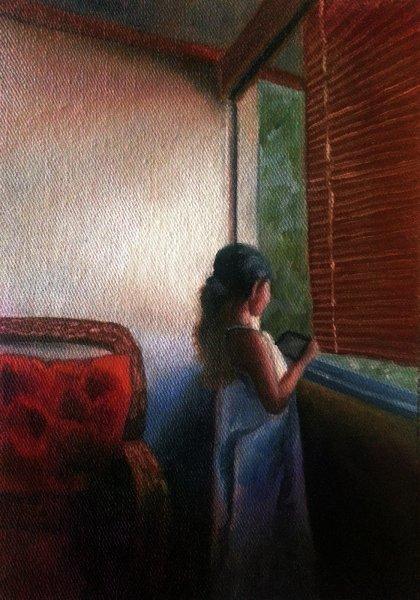 Menina na janela