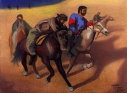 Árabes Cavalgando