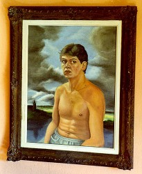 Auto-retrato do artista