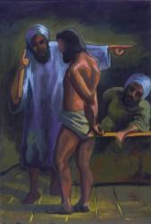 Cristo sendo apresentado ao Sumo Sacerdote