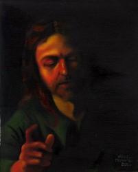 Face de Cristo - de Caravaggio