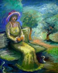 Mulher impressionista