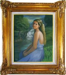 Mulher na paisagem