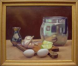 Natureza morta com ovos e limão - 2ª da série