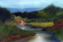 Paisagem com rio