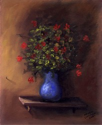 Pequeno Vaso de Flores