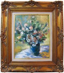 Releitura de Monet - Vaso
