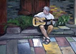 Retrato de Clayton Castilho em São Thomé das Letras