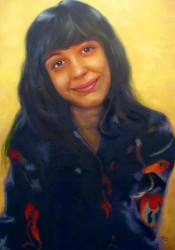Retrato de Cristina Giannotti