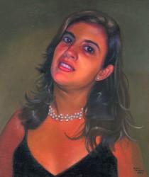 Retrato de Leila Burgos