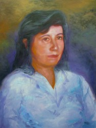 Retrato de Maria Ap. Oliveira