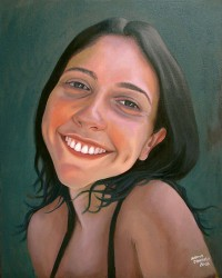 Retrato de Raquel Reis
