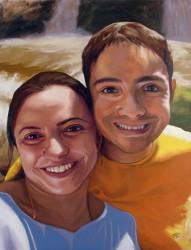 Retrato de Rodrigo e Magna