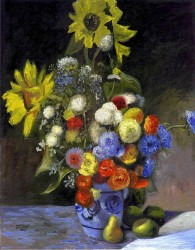 Vaso de Flores Impressionista
