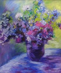 Vaso impressionista de Monet