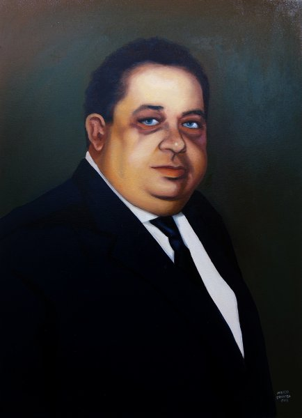 Retrato de Amador Trevisan
