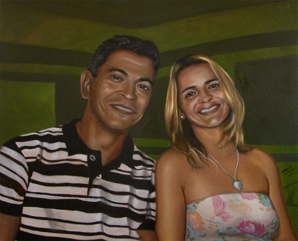 Retrato de Claudenir e Josi