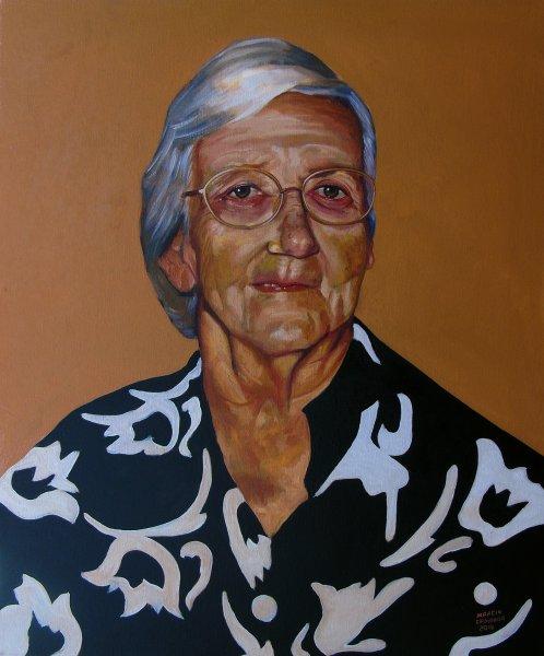Retrato de Zilda Dias Moreira